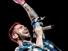 Adam Levine  of Maroon 5 performs at the Channel 933 Summer Kickoff concert on May 11, 2012 at Cricket Wireless Amphitheatre, Chula Vista CA