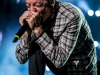 "Linkin Park performs on September 10, 2012 during their ""Honda Civic""  tour at Cricket Amphitheare in San Diego,  California"