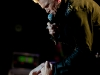 Billy Idol and his band perform at Humphreys Concerts on the Bay in San Diego on October 18 2011