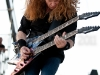 Megadeth performs at the Big 4 concert in Indio, CA on April 23, 2011