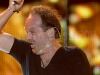 Metallica performs at the Big 4 concert in Indio, CA on April 23, 2011