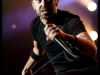 Rise Against perform at the Viejas Arena on 4/15/2012