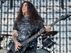 Slayer performs at the Big 4 concert in Indio, CA on April 23, 2011