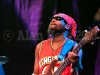 Amlak Tafari of Steel Pulse performs on November 4, 2010 at the Hollywood Park in Los Angeles, California