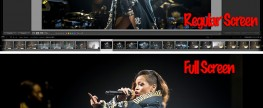 Lightroom 5 – Full Screen preview